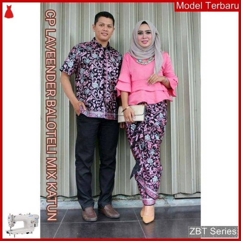 ZBT03209 Kebaya Batik Couple Lonceng Lavender Dewasa BMGShop DAN PIN JUAL   Baju Murah Online Model 16731a2dfa