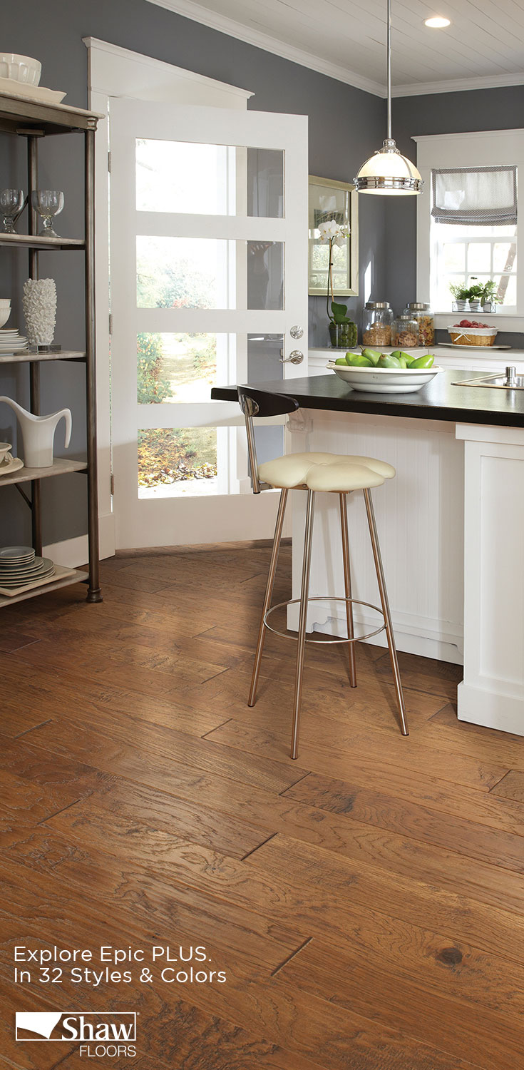 Epic plus hardwood floor is the next generation of the remarkable