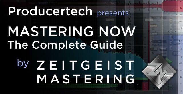 Mastering Now by Zeitgeit Mastering.
