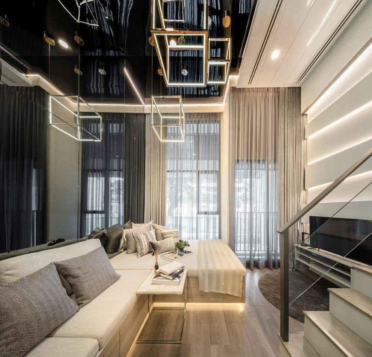 Luxurious Compact Modern Condo Apartment With Double