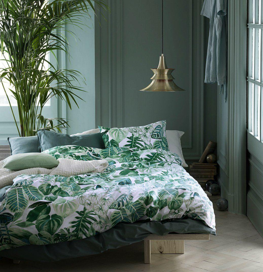 Best Amazon Com Botanical Tropical Plants Bedding Duvet Cover 640 x 480
