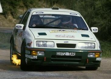 Ford Sierra Rs Cosworth Rally Car Coche De Rally Automoviles Rally