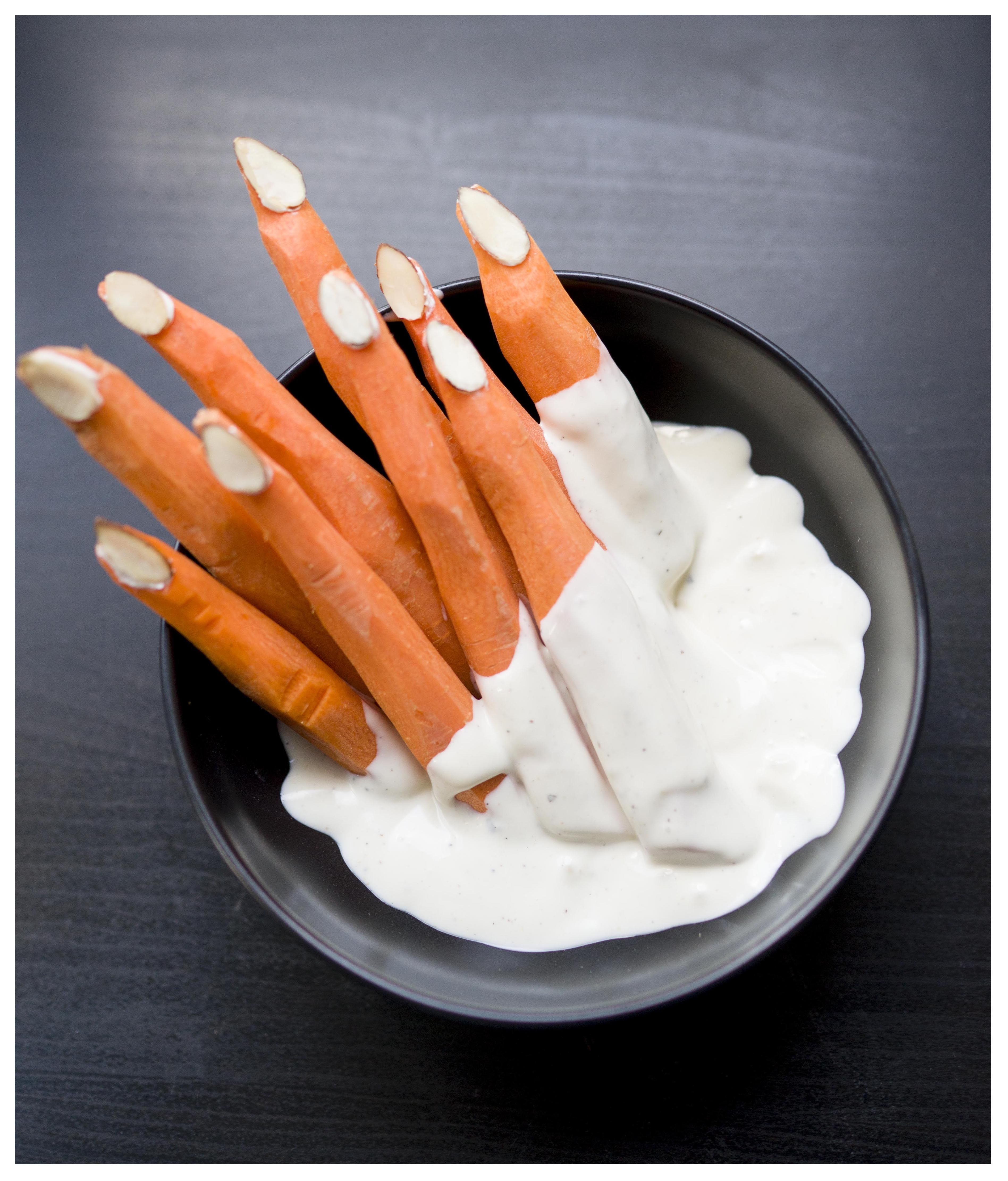 Creepy Crudités for the perfect Halloween finger food