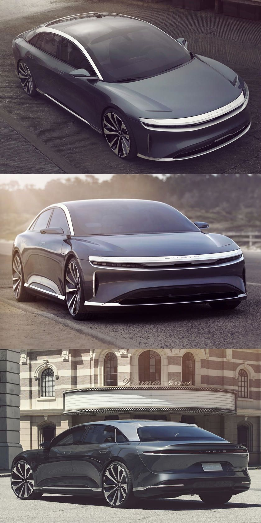 Lucid Air To Reveal 1000HP EV At 2020 New York Auto Show