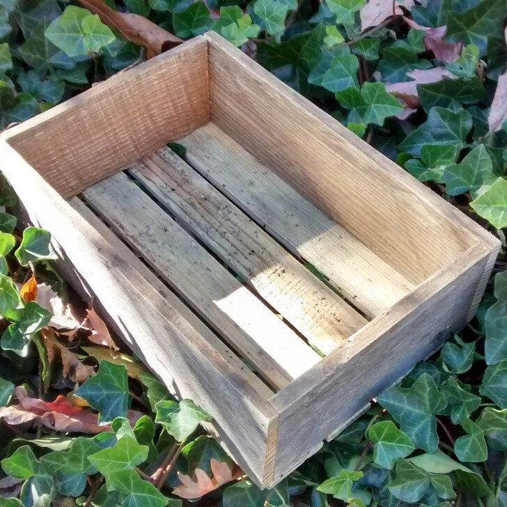 Our Repurposed Pallet Boxes Make Great Gifts, Holiday