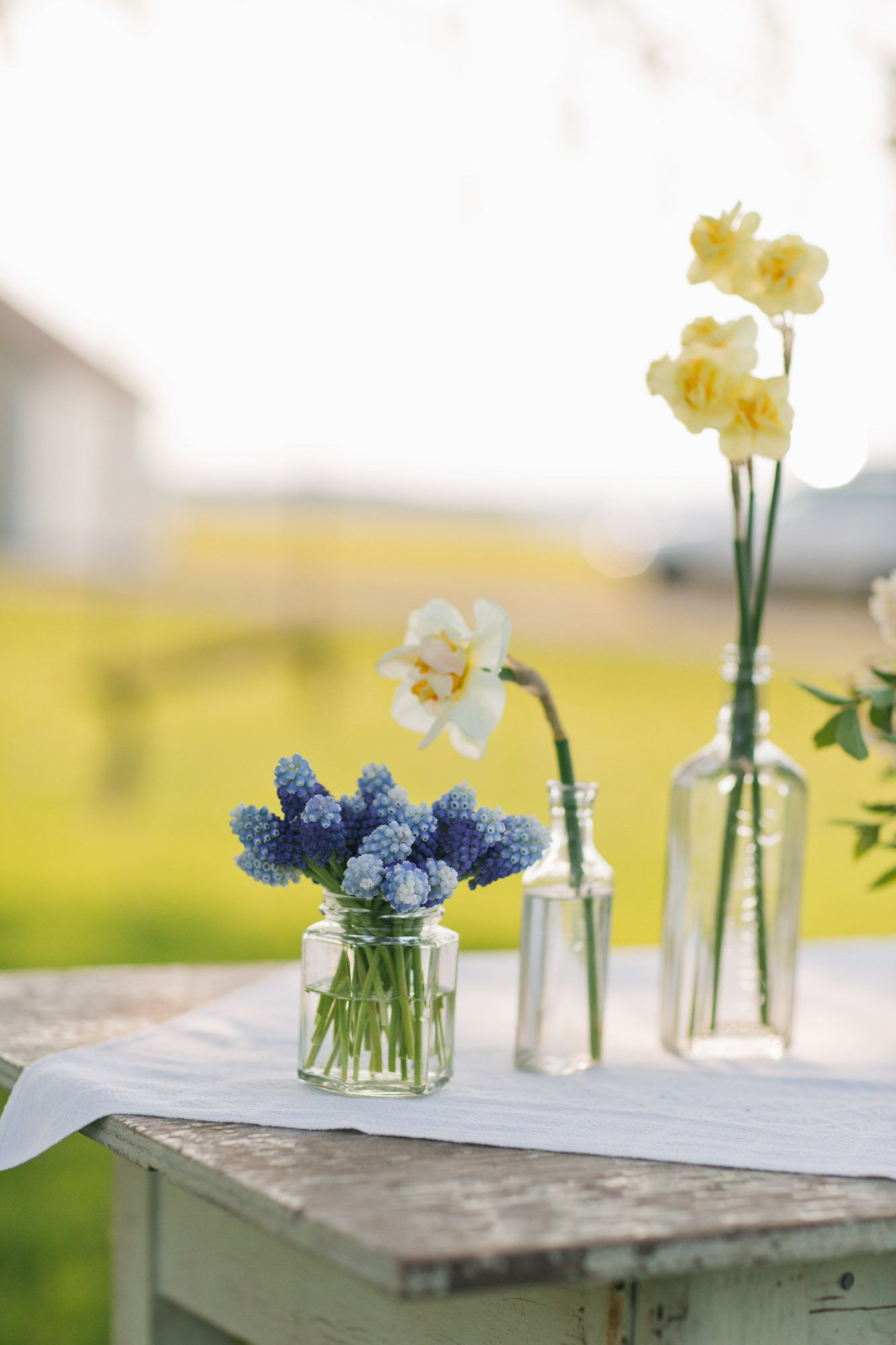 Spring Party Table decor from Floret Farm