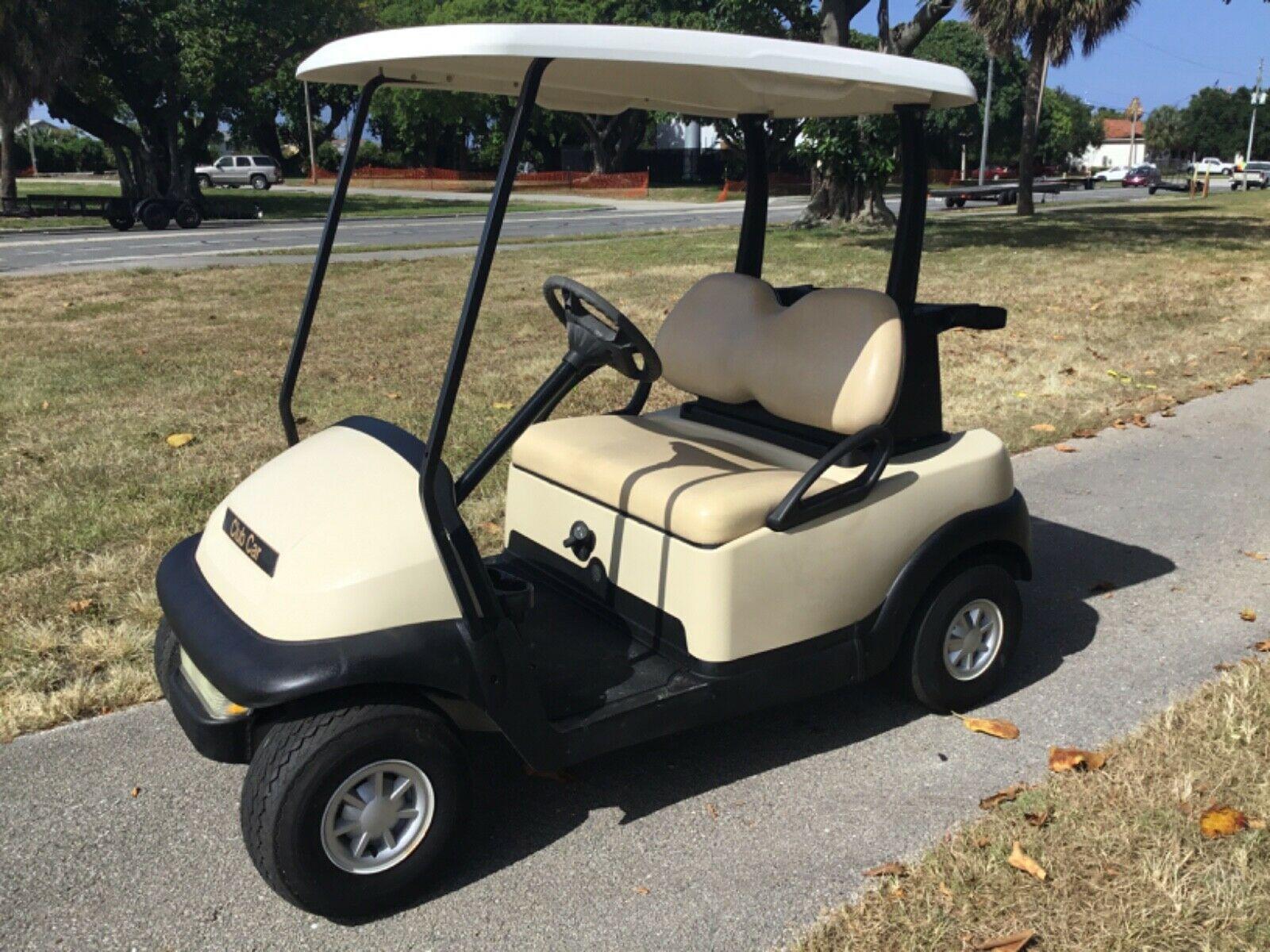 Club Car 2007 Custom Club Car Precedent Gas Tan Golf Cart 2 Passenger Seat W Canopy Lites Runs Good In 2020 Golf Carts For Sale Electric Golf Cart Yamaha Golf Carts