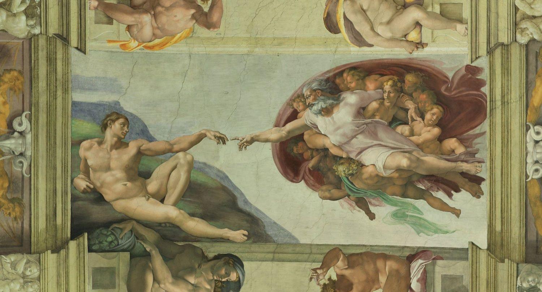 фото сикстинская капелла микеланджело