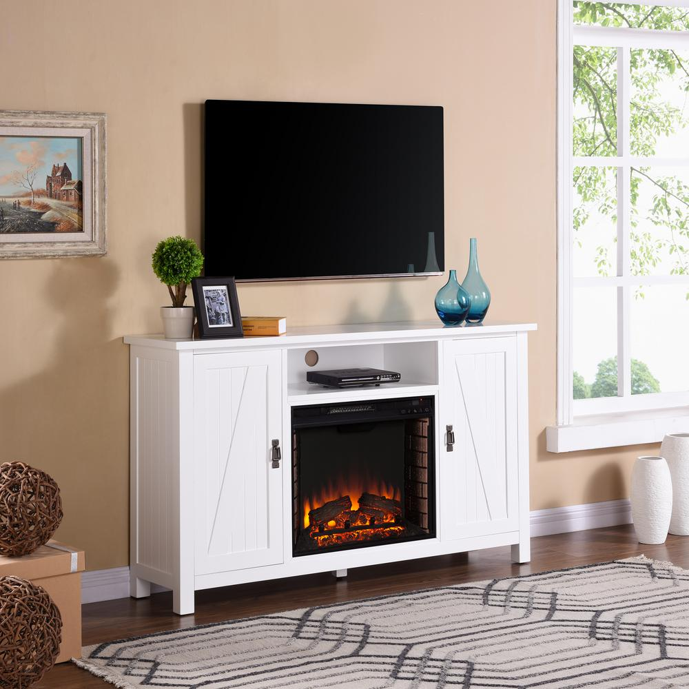 17+ Farmhouse style tv stand with fireplace type