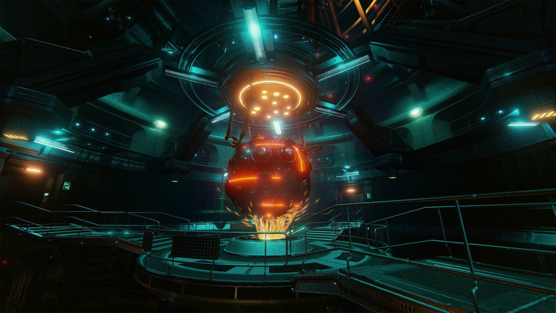 Ue4 Scifi Reactor Room Unreal Engine Forums Scifi Room Sci Fi Environment Room Concept Art