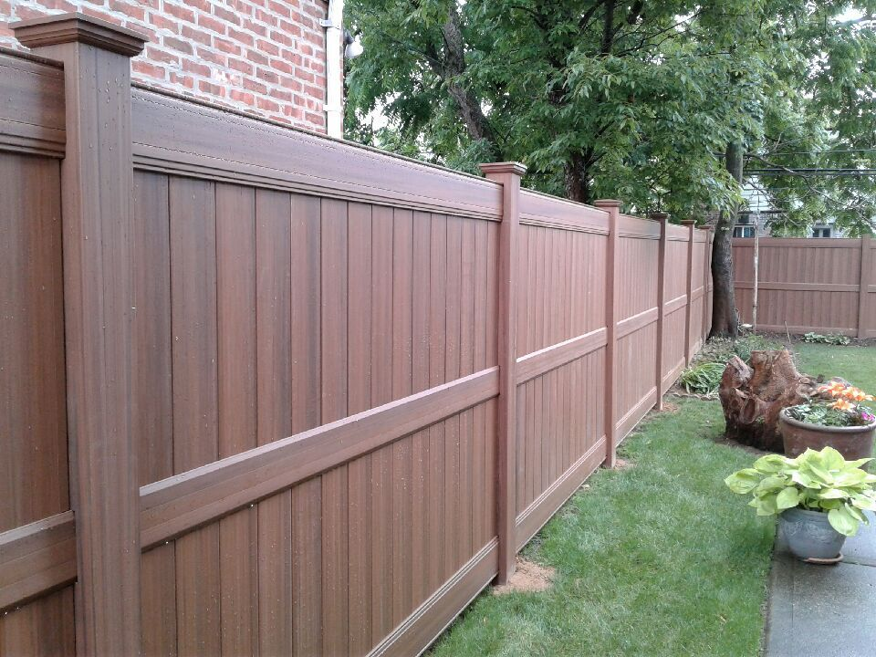 72 Wood Grain Vinyl Privacy Fencing Wood Grain Vinyl Fence Vinyl Privacy Fence Vinyl Fence