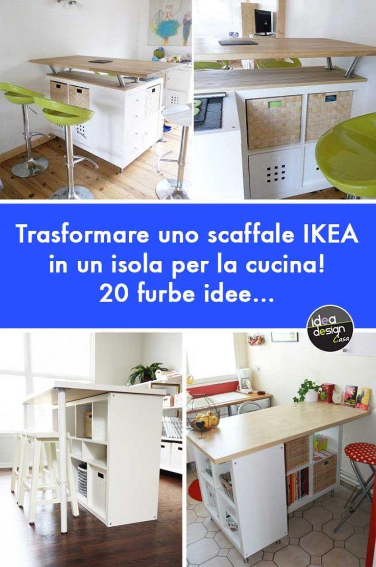 IKEA Cucine: Trasformare uno scaffale IKEA in un isola per ...