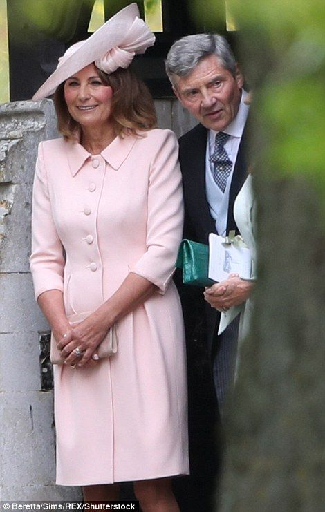 Pippa Middleton and James Matthews leave the church as man and wife ...