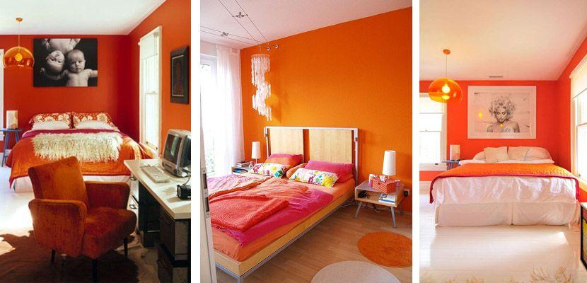 Combinaci n naranja y azul turquesa para el hogar buscar for Decoracion hogar naranja