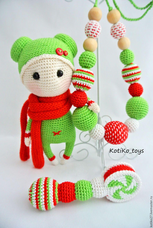 Pin von Elena Caterov auf baby rattle slingo toys | Pinterest
