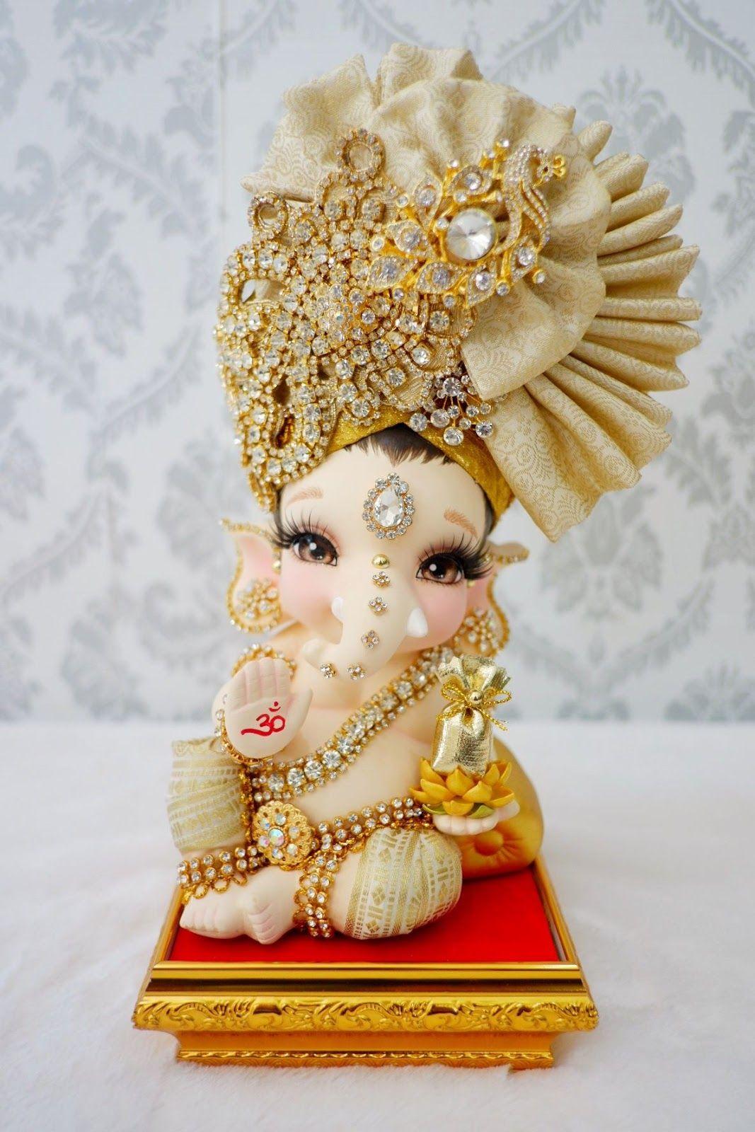 Pin By Pranshi Sharma On Adorable Baby Ganesha