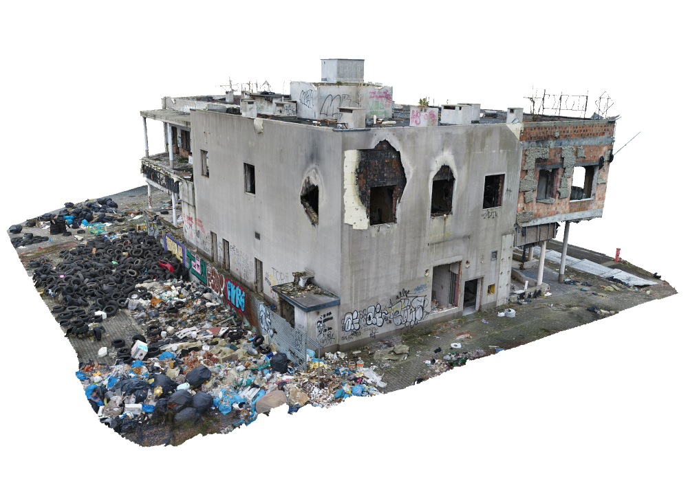 3d Other Abandoned Destroyed Building Abandoned Buildings Abandoned Building