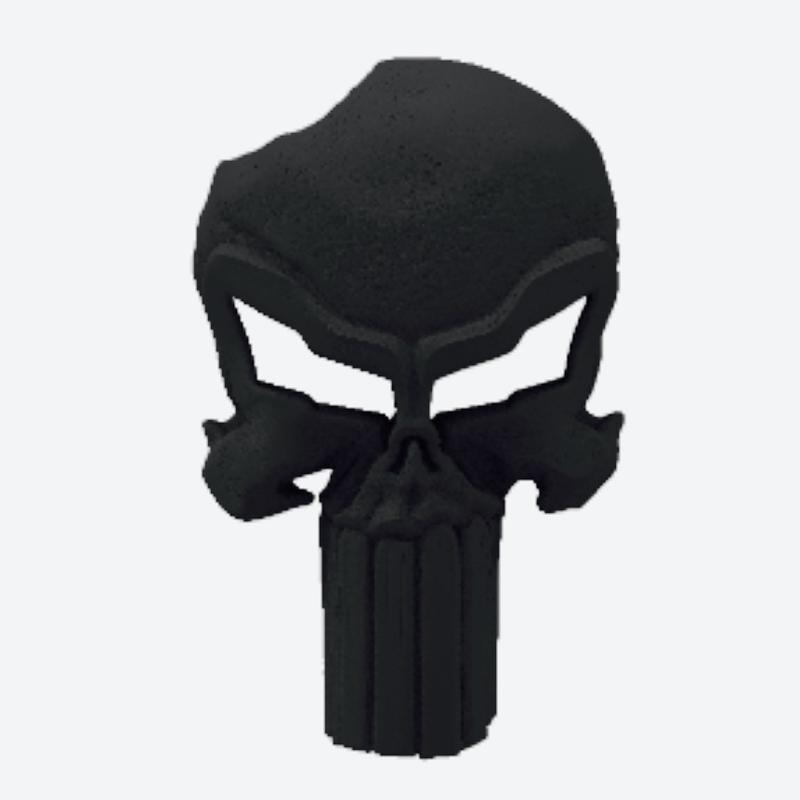 #CuzitsCustom 3D Punisher Skull For Vettes