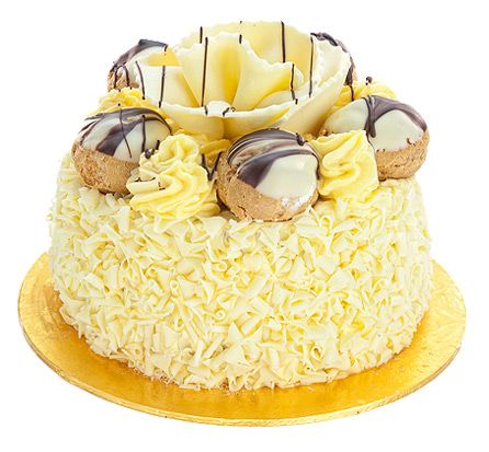 Patisserie Valerie , Special Occasion Cakes , White Chocolate Dream Gateau