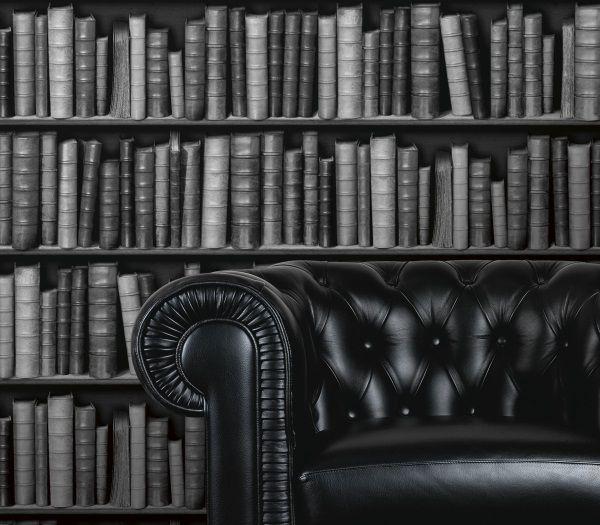 I Love WallpaperTM Book Shelf Case Effect Wallpaper