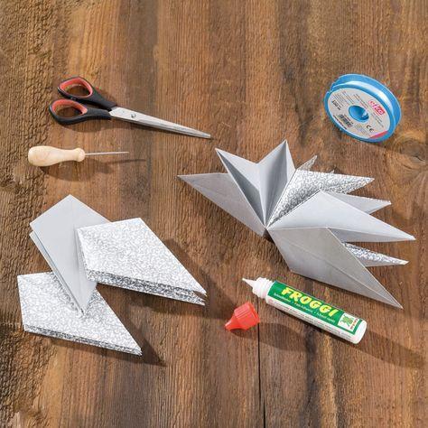 Asteri-Stern #origamianleitungen