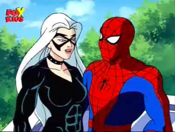 Black Cat & Spidey (FOX Kids series 1990's) | Spiderman ...