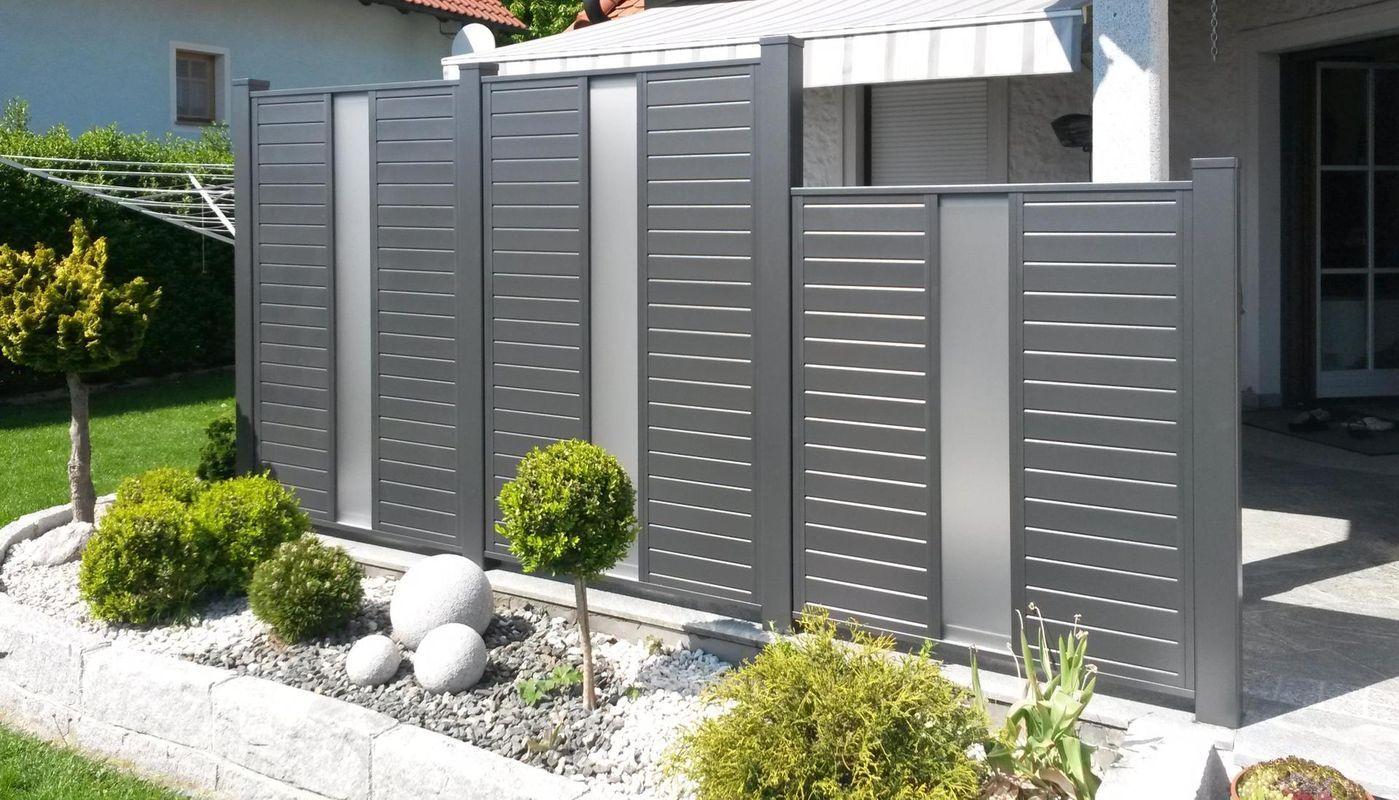 Brix Sichtschutz Felder Als Alu Passend Zu Vielen Brix Modellen Brix Sichtschutz Aus Aluminium Sichtschutz Garten Zaun Hauswand Diy Terrasse