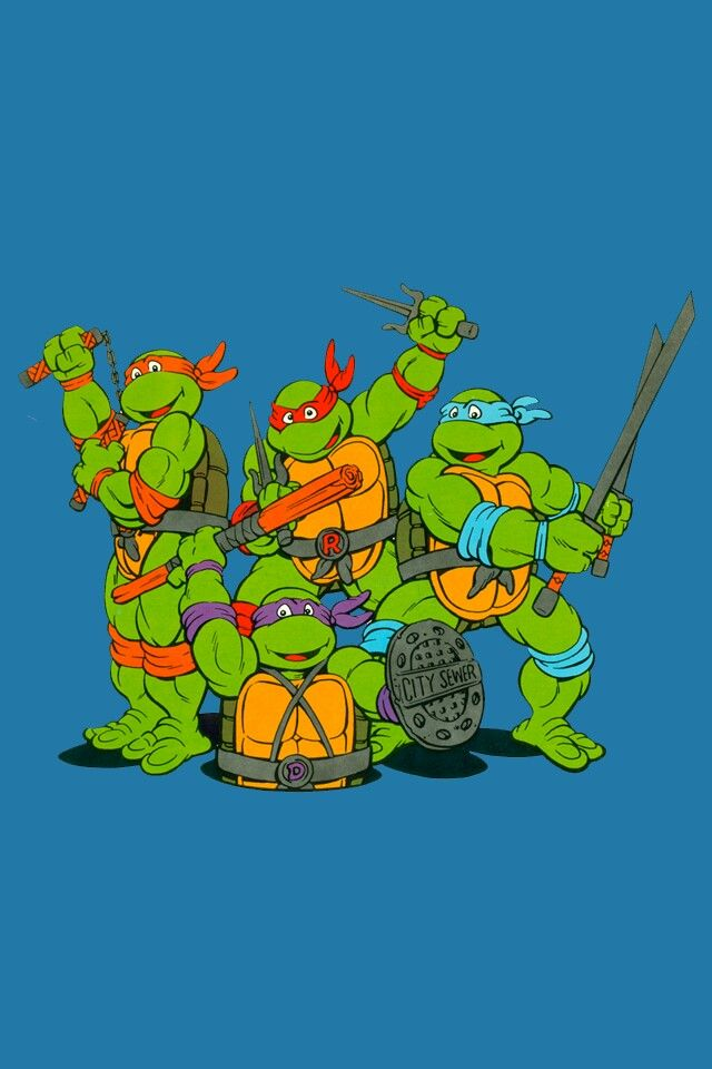 Ninja Turtle iPhone Wallpaper × Ninja Turtles Wallpaper