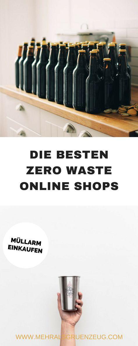 Zero Waste Online Shops: nachhaltig und müllarm einkaufen | Mehr als Grünzeug