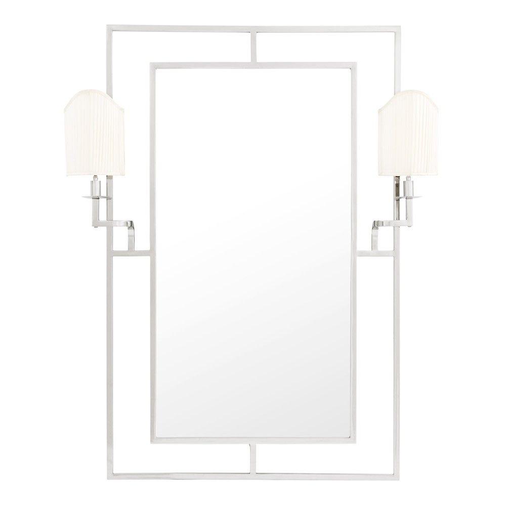 Eichholtz Astaire Mirror - Nickel