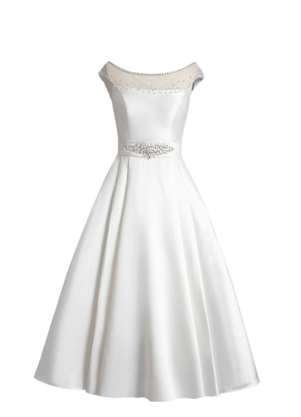 Tidetell elegant short off the shoulder wedding dresses with