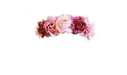 Pansy Punk Flower Crown Rose Flower Crown Pink Flower Crown