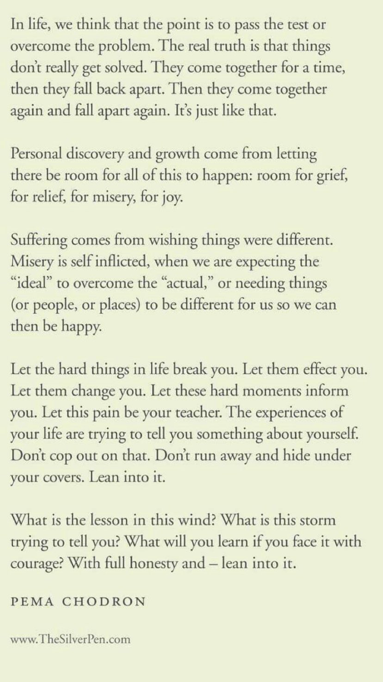 Such A Powerful Passage About Life And Its Insane Lessons We All
