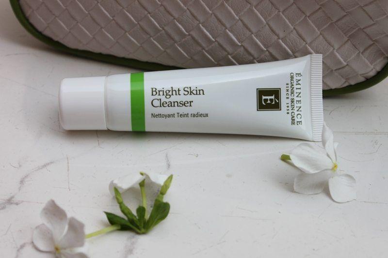 Dove Bagnodoccia ~ Eminence organic bright skin cleanser review https: www