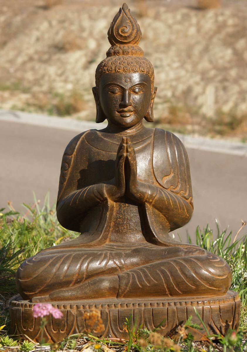 sold praying buddha garden statue 28 buddha garden. Black Bedroom Furniture Sets. Home Design Ideas