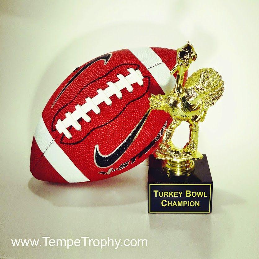 Turkey Bowl Football Trophy Www Tempetrophy Com