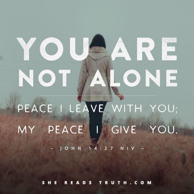 You Are Not Alone Tiny Tejas Tenney Farm Alone God Bible Verses
