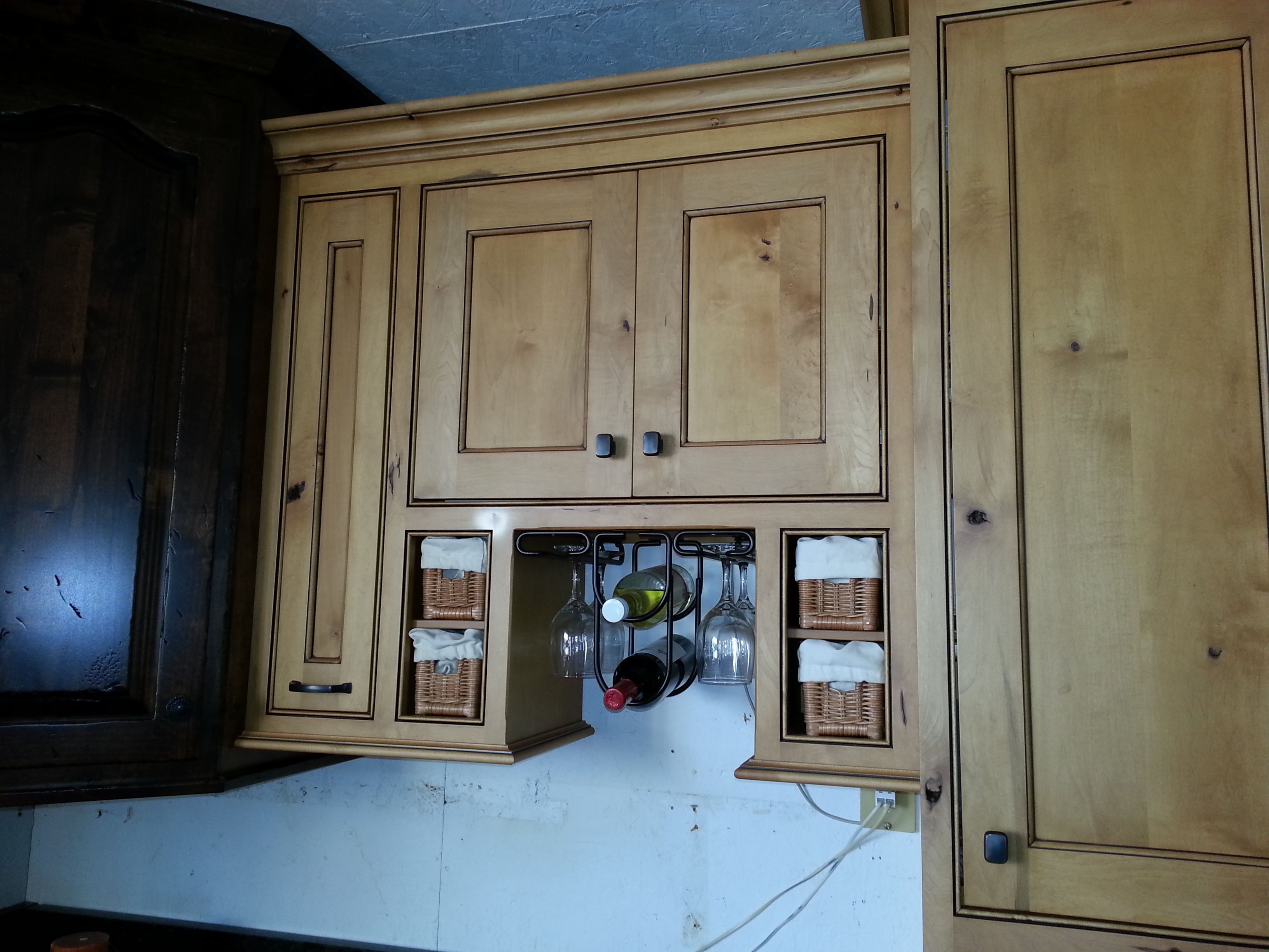 amish kitchen cabinets these gorgeous are made out rustic hickory ...