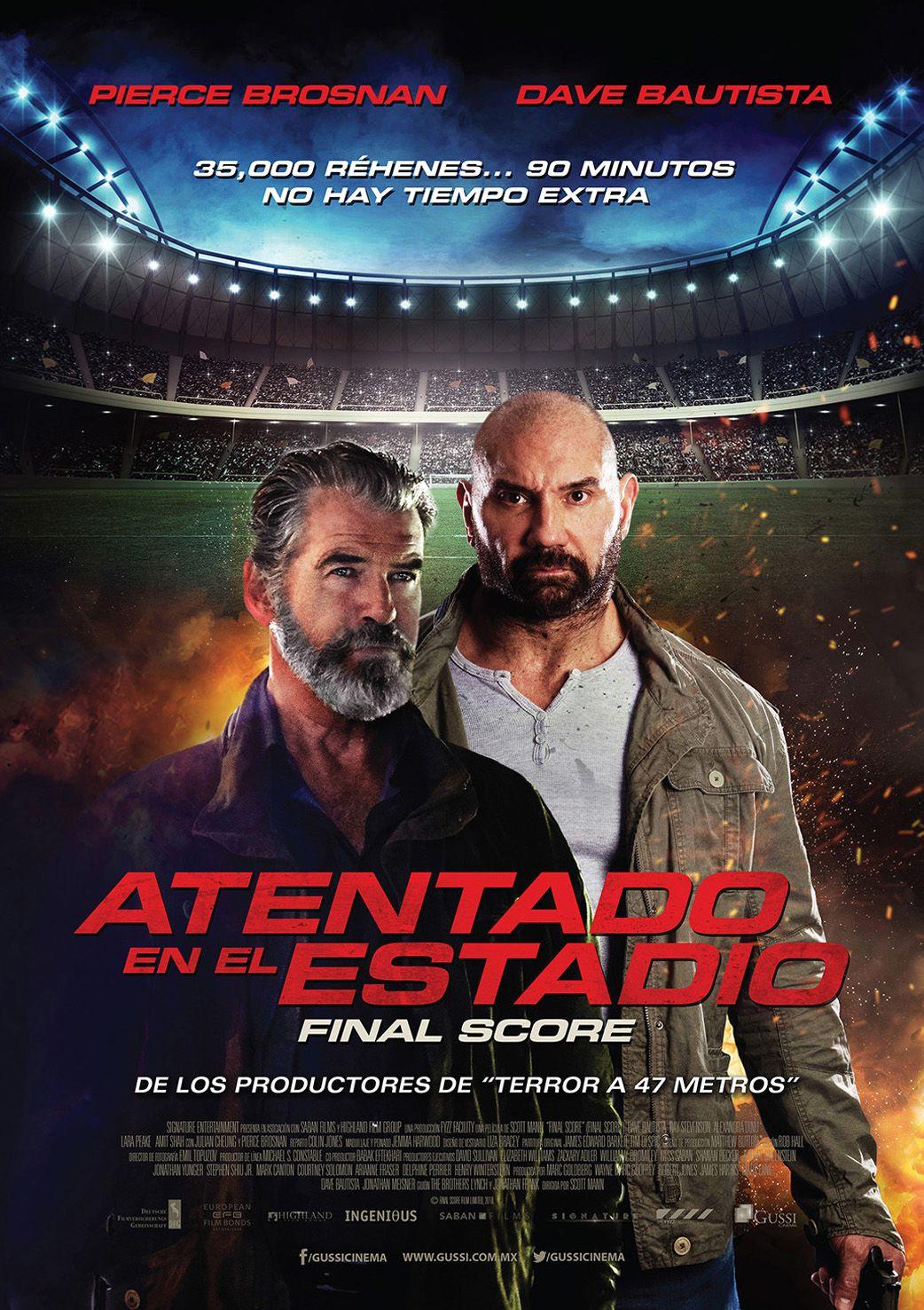 Atentado En El Estadio Final Score Peliculas En Espanol Peliculas Completas Ver Peliculas Gratis