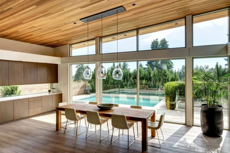 Salle à manger moderne de design innovant en 34 exemples Future