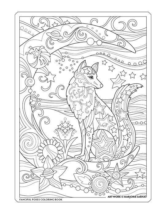 Pin von Barbara auf Marjorie Sarnat coloring | Pinterest