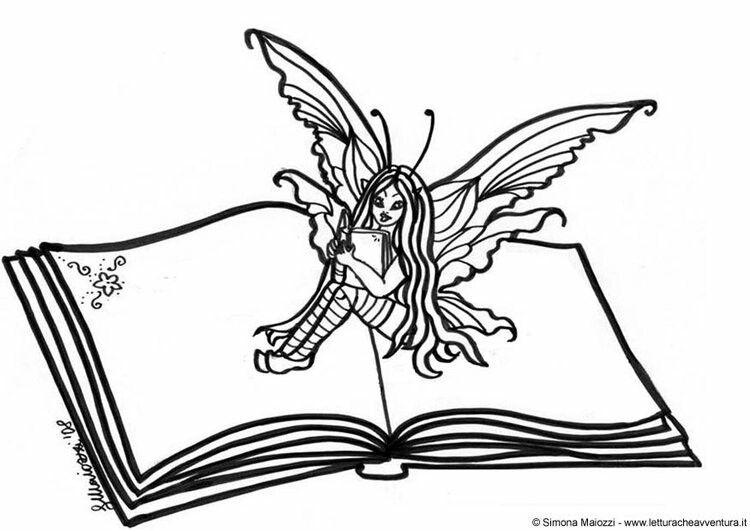 Pin By Malinka78 Kalinka On Raskraska Na Oblozhku Fairy Book Coloring Pages Angel Coloring Pages