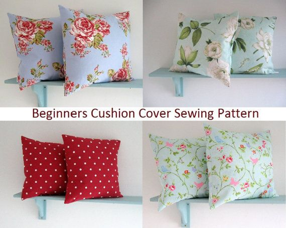 PDF Sewing Pattern easy to make Cushion Cover | Pinterest | Pdf ...