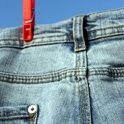How to Make a Jean Skirt With an Asymmetrical Hem   eHow