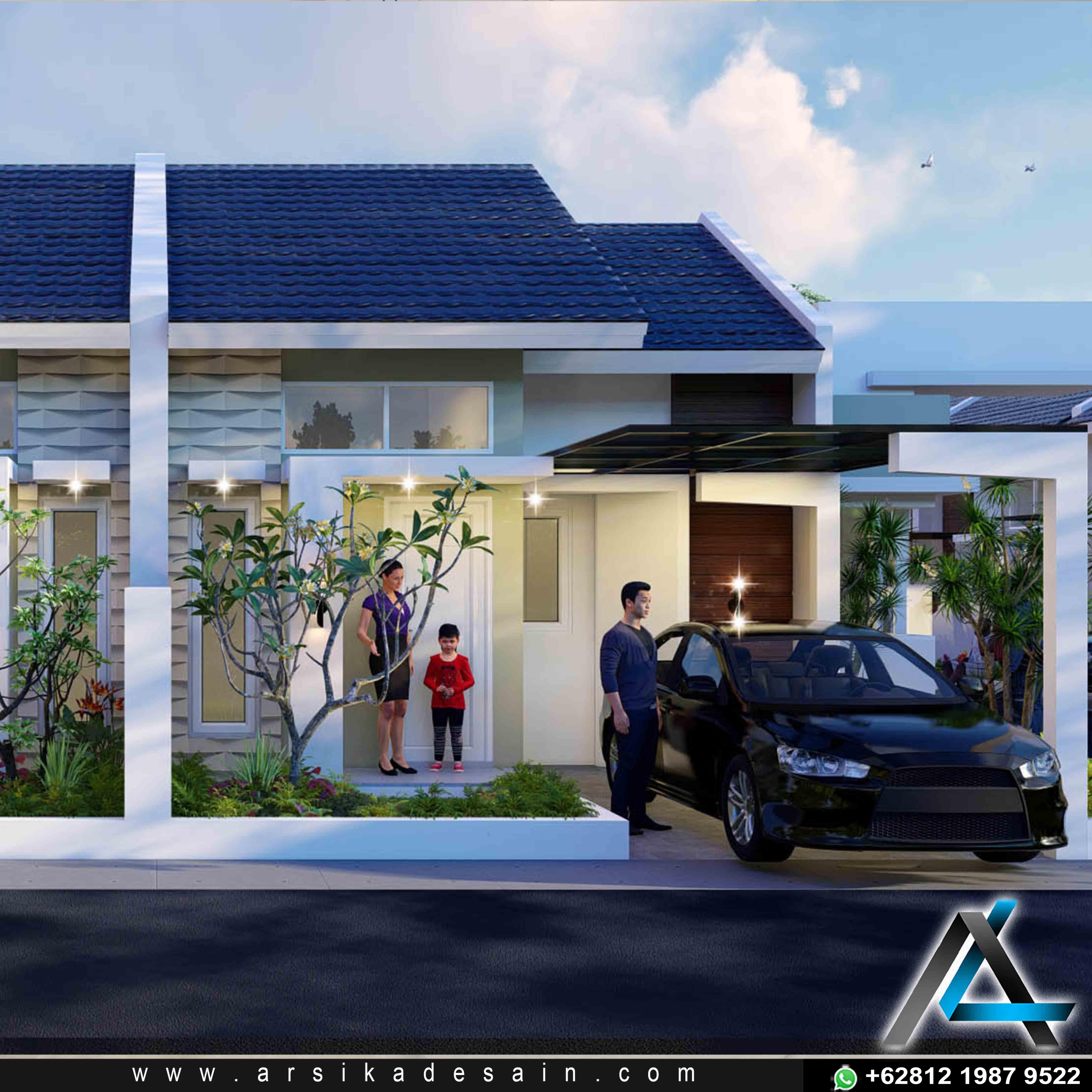 Desain Rumah Minimalis Modern Di 2021 Arsitektur Modern Desain Rumah Minimalis