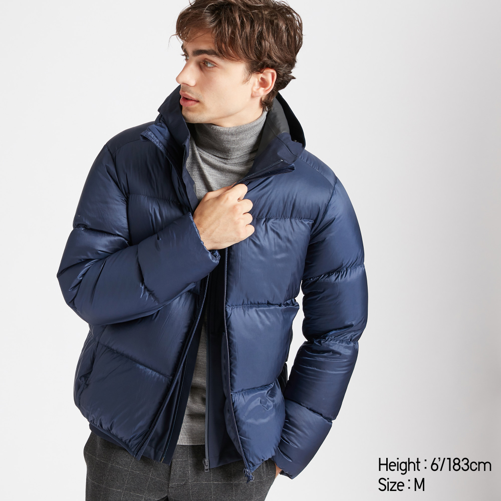 Men ultra light down puffer jacket | Puffer jackets, Jackets