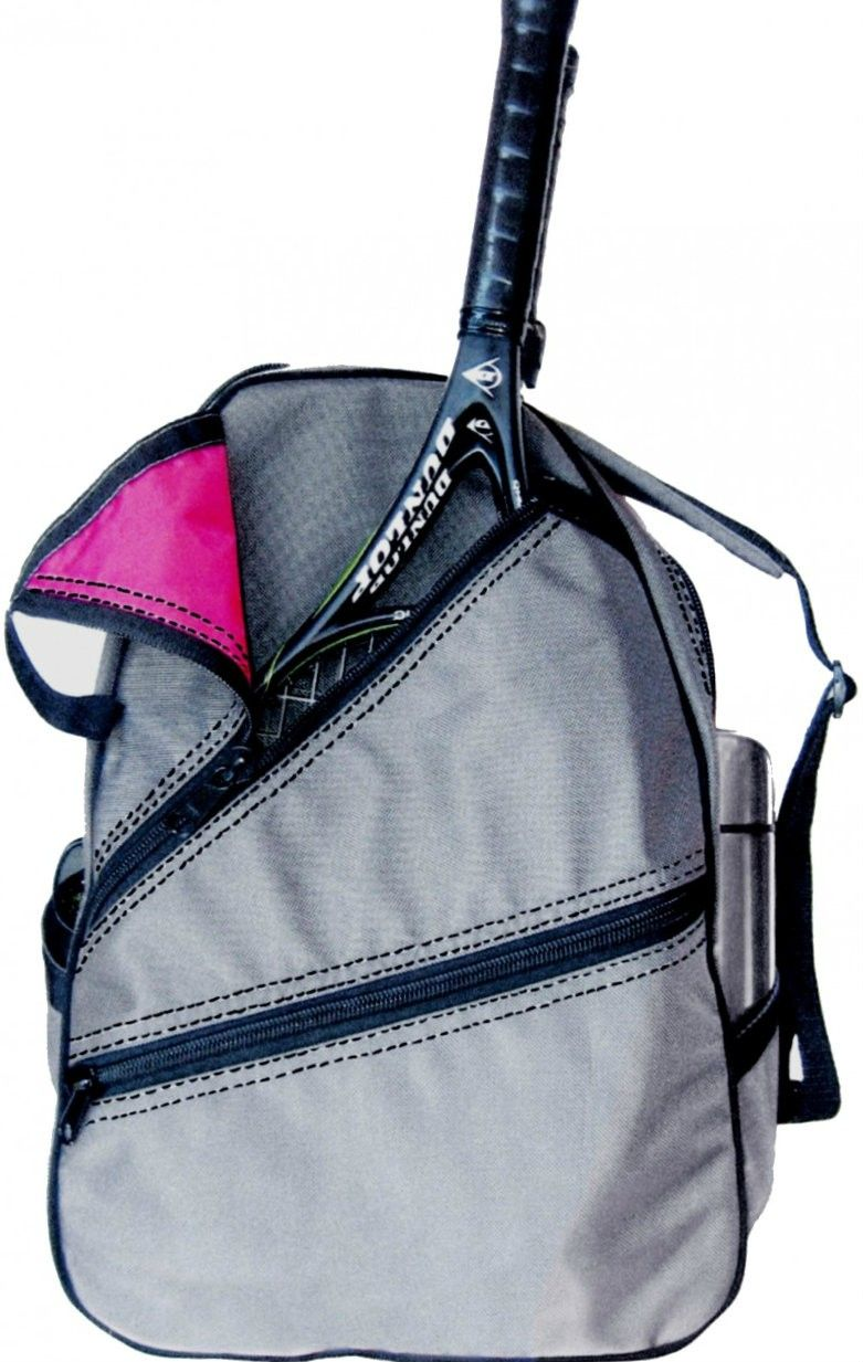 Slamglam Maggie Mather Silver Tennis Backpack Bag Is Lightweight Yet Resilient Great Gift For Holiday
