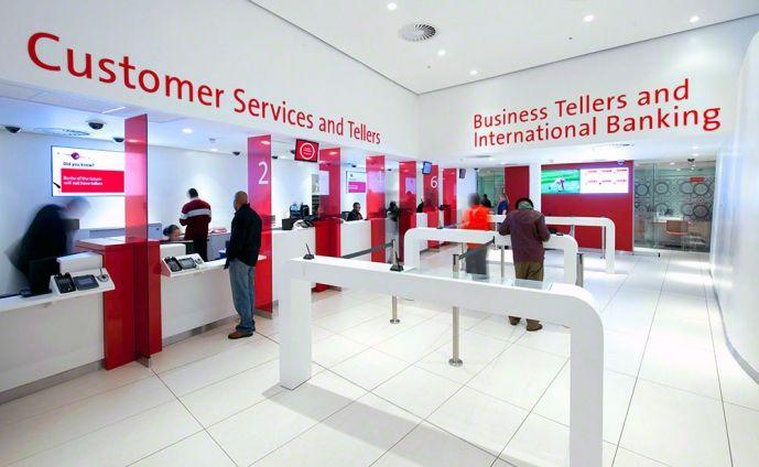 Absa Allen International Bank Interior Design Retail Space Design Commercial Interior Design