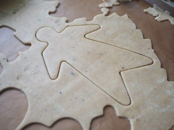 Old Fashioned Pepperkaker Norwegian Gingerbread Cookies Holiday