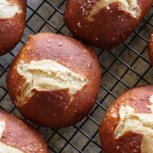 Mini Pretzel Roll recipe